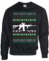 Amazon.com: Guns AR-15 1911 Christmas Gift Ugly Sweater G43 G19 ...