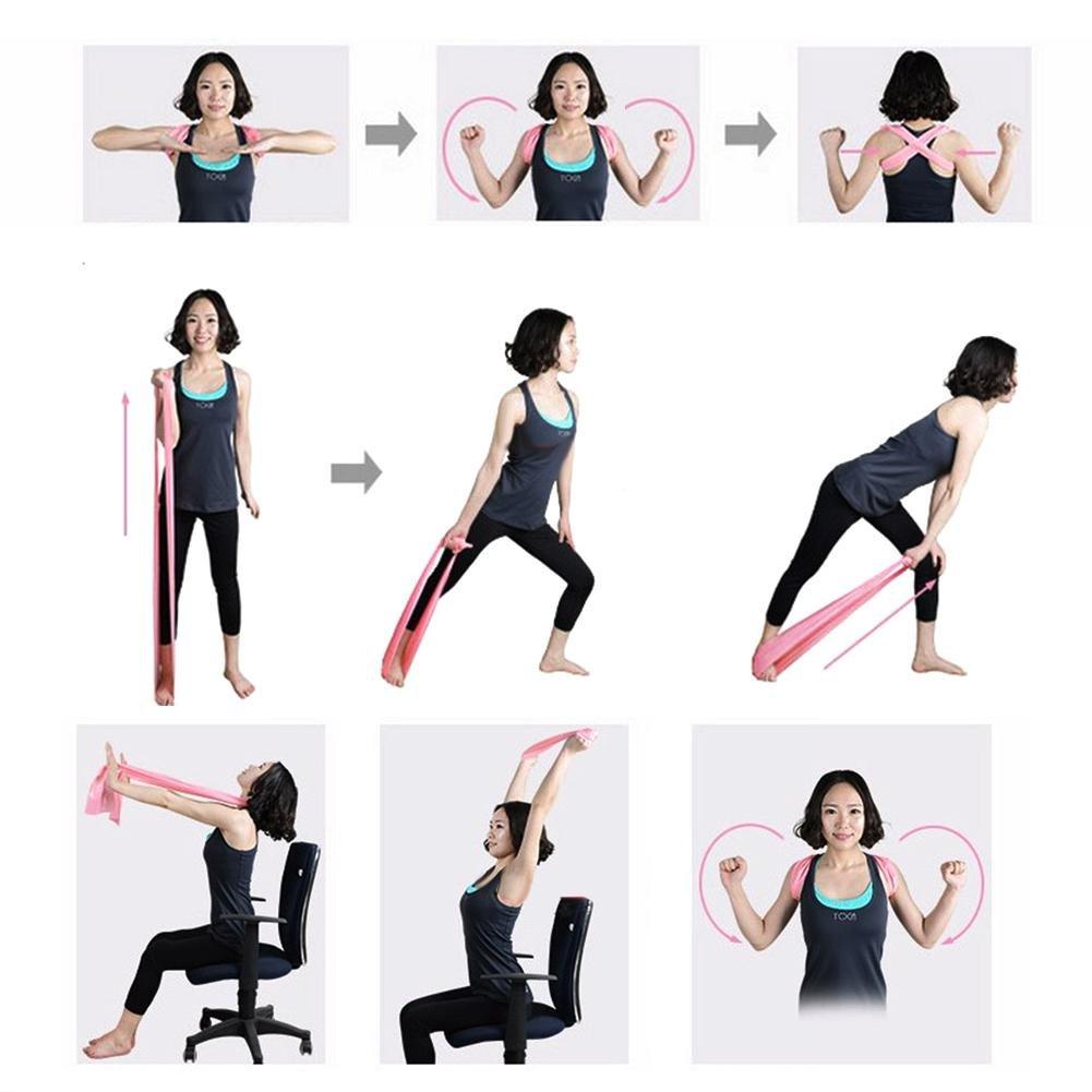 Amazon.com: runmind resistencia banda elástica ejercicio ...
