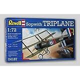 Revell Modellbausatz 04187 - Sopwith Triplane im Maßstab 1:72