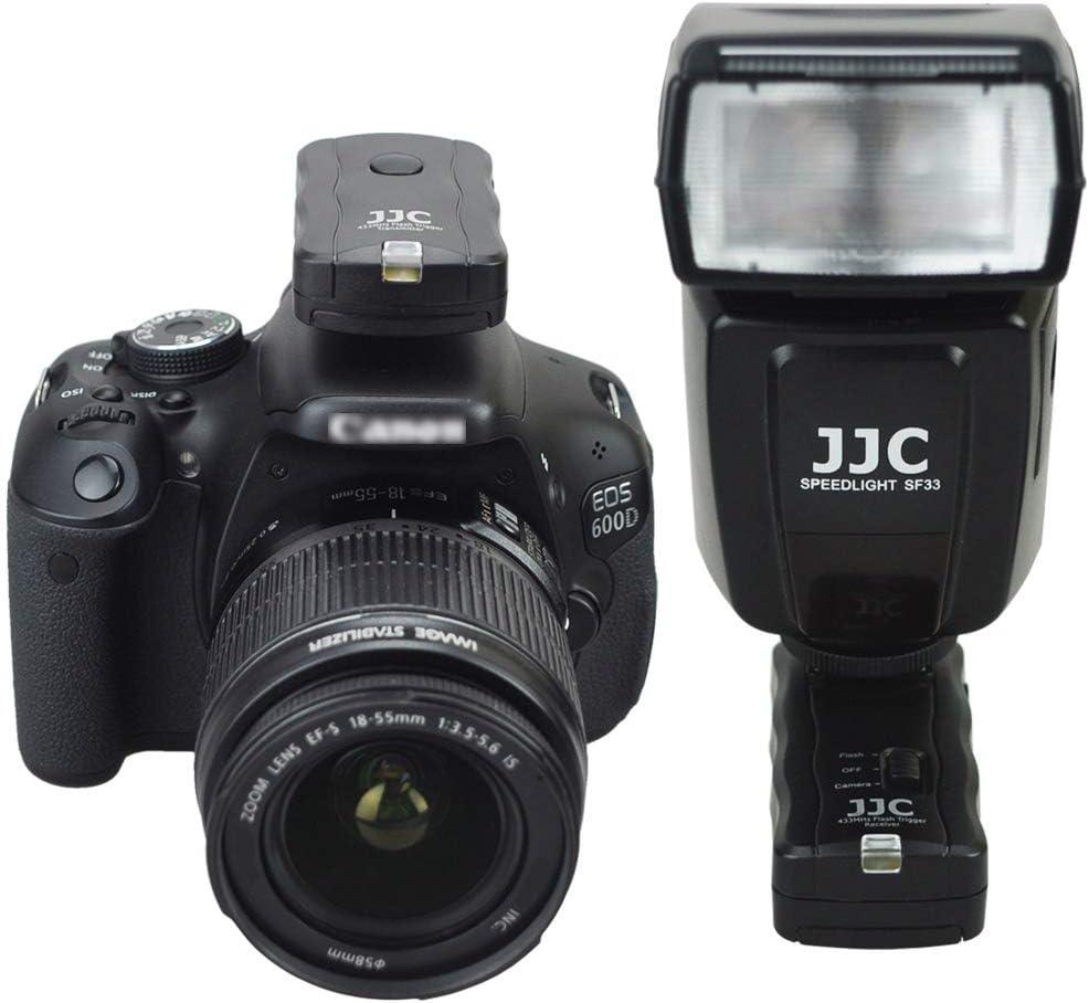 Wireless Flash Trigger JJC Remote Control Flash Trigger Kit for Nikon SB-910 SB-700 on Nikon D3300 D3200 D3100 D7500 D7200 D7100 D5600 D5500 D5300 D5200 D5100 D750 D610 D600,etc with Shutter Cable