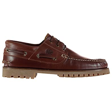 Mens Jose Boat Shoes Lace Up Gripped Sole Fashion Stitched Detailing