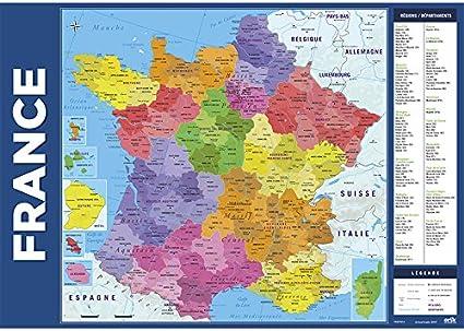 Amazon Com Vade School Carte De France 2017 Office Products
