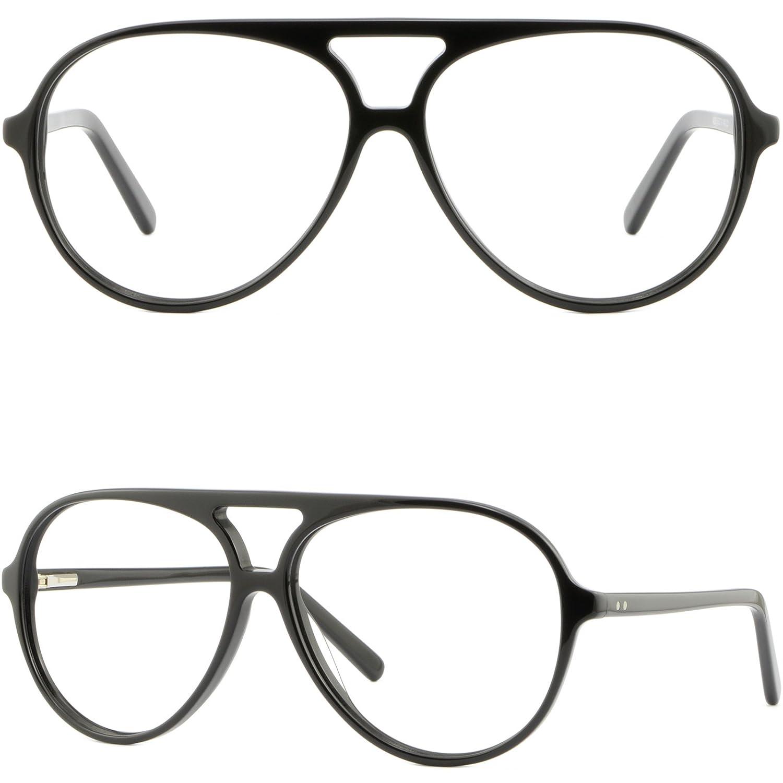 amazon oversize huge acetate frame eyeglasses wide rx glasses Oakley Gascan S Polarized amazon oversize huge acetate frame eyeglasses wide rx glasses spring hinges shiny black clothing
