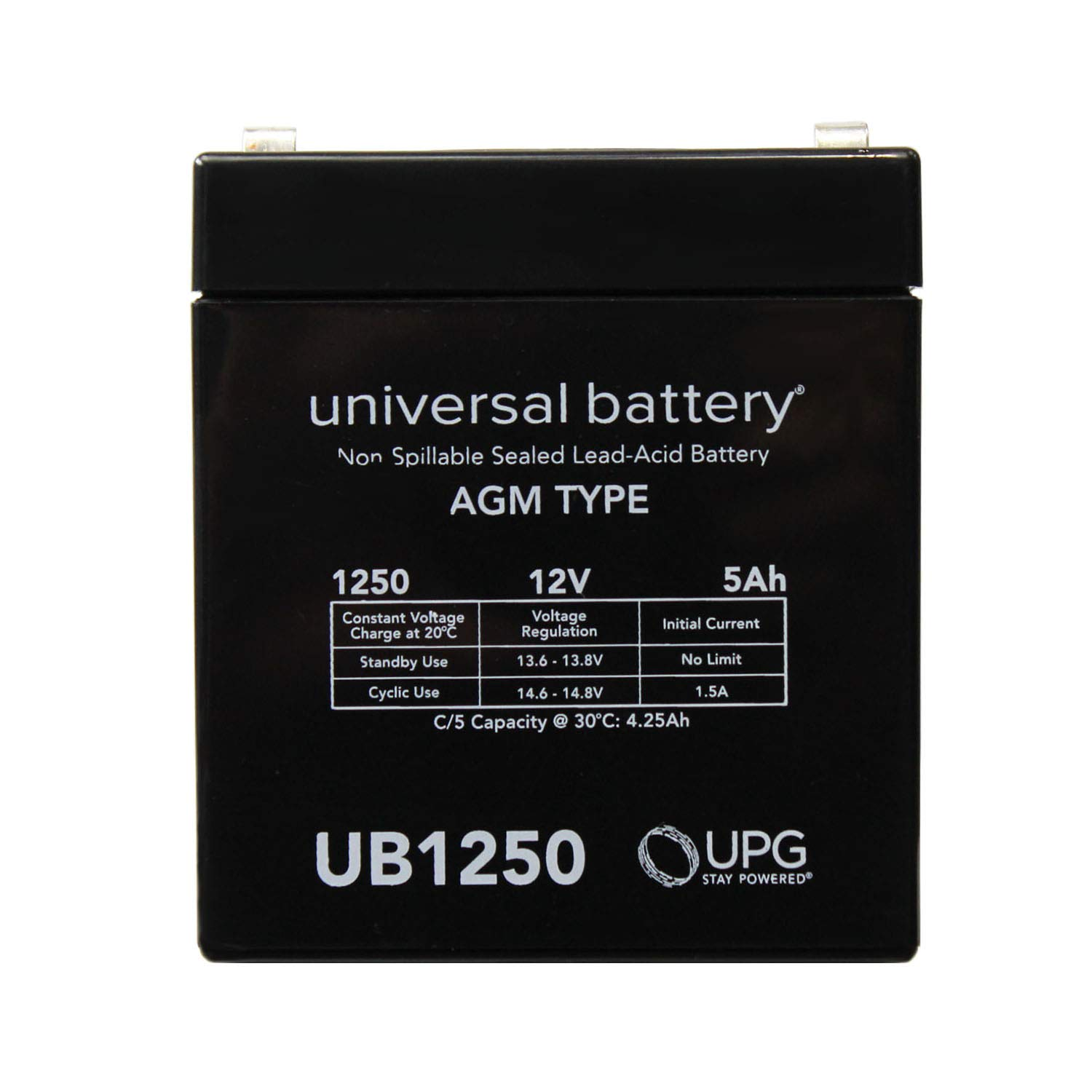 Universal Power Group 12V 5AH SLA Battery Replacement for ION AudioJob Rocker Sound System by Universal Power Group