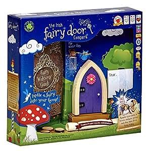 The irish fairy door company purple arched for Amazon uk fairy doors