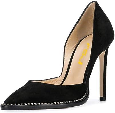 FSJ Women Sexy High Heels Slide Pumps