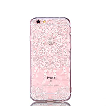 Felfy Diamante Funda Compatible con iPhone 6 Carcase ...