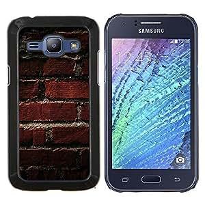 For Samsung Galaxy J1 J100 Case , Modelo de la textura de ladrillo viejo- Diseño Patrón Teléfono Caso Cubierta Case Bumper Duro Protección Case Cover Funda