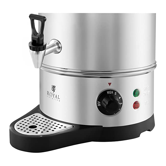 Royal Catering - RCWK 10A - Hervidor de agua - 10 litros - Bandeja recogegotas - Envío Gratuito: Amazon.es: Bricolaje y herramientas