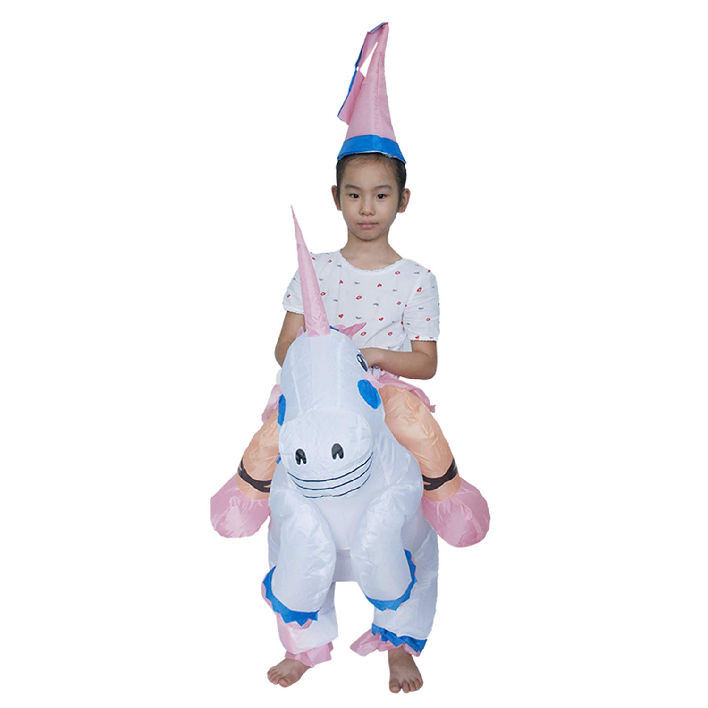 LOVEPET Unicornio Tianma Traje Inflable Halloween Disfraz ...