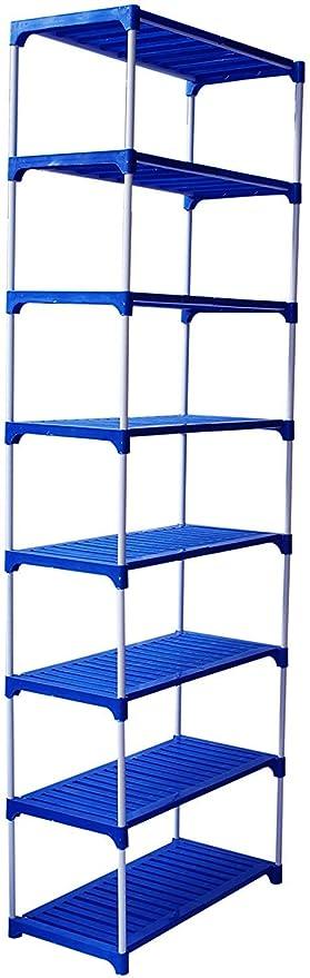 Savya home shy; reg; Multipurpose Rack 8 Shelves Book Shelf Shoe Rack  8 Shelf  Hallway Furniture