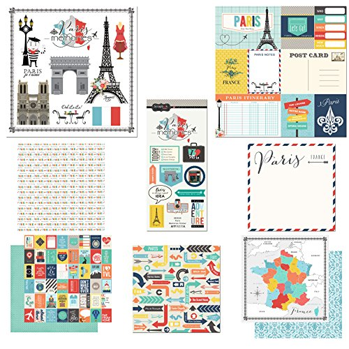 Scrapbook Customs Themed Paper and Stickers Scrapbook Kit,