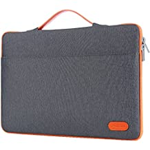 "ProCase 14 - 15.6 Inch Laptop Sleeve Case Protective Bag for 15"" MacBook Pro 2016, Ultrabook Notebook Carrying Case Handbag for 14"" 15"" ASUS Acer Lenovo Dell HP Toshiba Chromebook Computers -Dark Grey"
