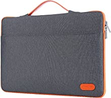 """ProCase 12-12.9 inch Sleeve Case Bag for Surface Pro 2017/Pro 6 4 3, MacBook Pro 13, iPad Pro Protective Carrying Cover Handbag for 11"""" 12"""" Lenovo Dell Toshiba HP ASUS Acer Chromebook -Dark Gray"""