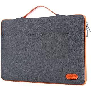 "ProCase 14-15.6 Inch Laptop Sleeve Case Protective Bag, Ultrabook Notebook Carrying Case Handbag for MacBook Pro 16""/14"" 15"" 15.6"" Dell Lenovo HP Acer Samsung Sony Chromebook Computer -Dark Grey"