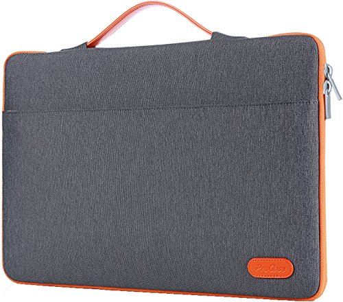 ProCase 14-15.6 Inch Laptop Sleeve Case Protective Bag, Ultrabook Notebook Carrying Case Handbag for 14 15 Samsung Sony ASUS Acer Lenovo Dell HP Toshiba Chromebook Computers -Dark Grey
