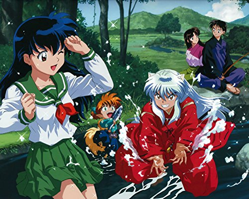 Inuyasha Poster Anime Japanese Wall Art Decor