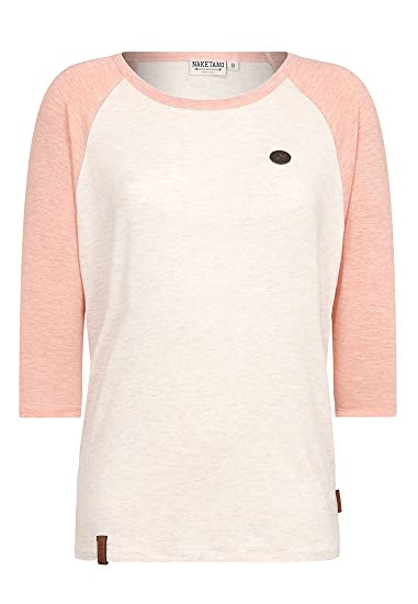 Naketano Damen Longsleeve Immer Am Ballern T Shirt: Amazon