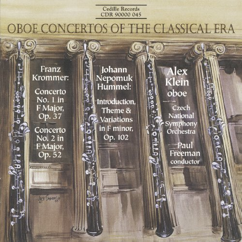 (Krommer: Oboe Concertos Nos. 1 and 2 / Hummel: Introduction, Theme and Variations)