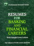 Resumes for Banking and Financial Careers, VGM Career Books Staff, 0844241563