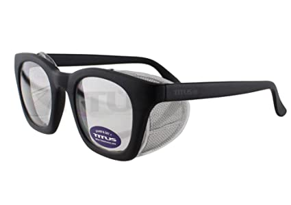 fd125e1d6a Retro Style Safety Glasses with Side Shield (w o Pouch