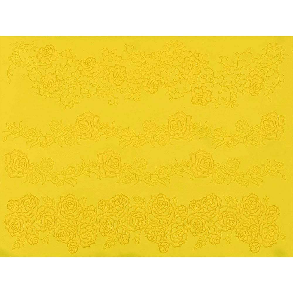 Rose Line Garland Silicone Lace Mat by Chef Alan Tetreault by ALAN TETREAULT SELECT PRODUCTS (Image #2)