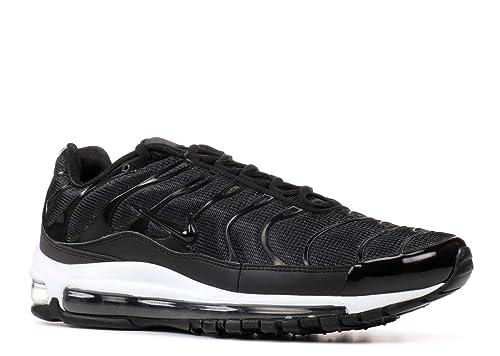Nike Mens Air Max 97Plus Mesh Running, Cross Training Shoes Black 12 Medium (D)