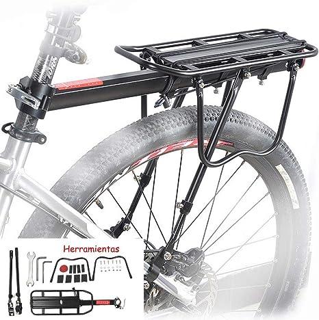 homelikesport Portaequipajes Trasero de Aluminio para Bicicleta ...
