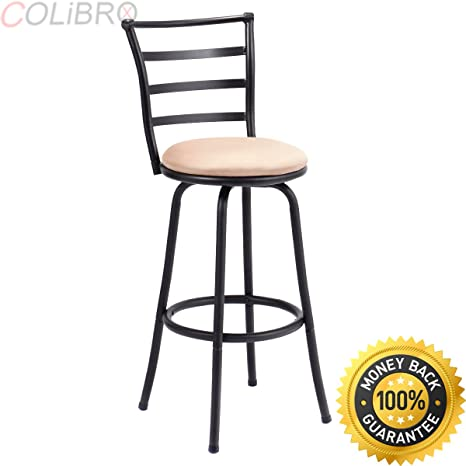Outstanding Amazon Com Colibrox Set Of 3 Swivel Bar Stools Steel Frame Gmtry Best Dining Table And Chair Ideas Images Gmtryco