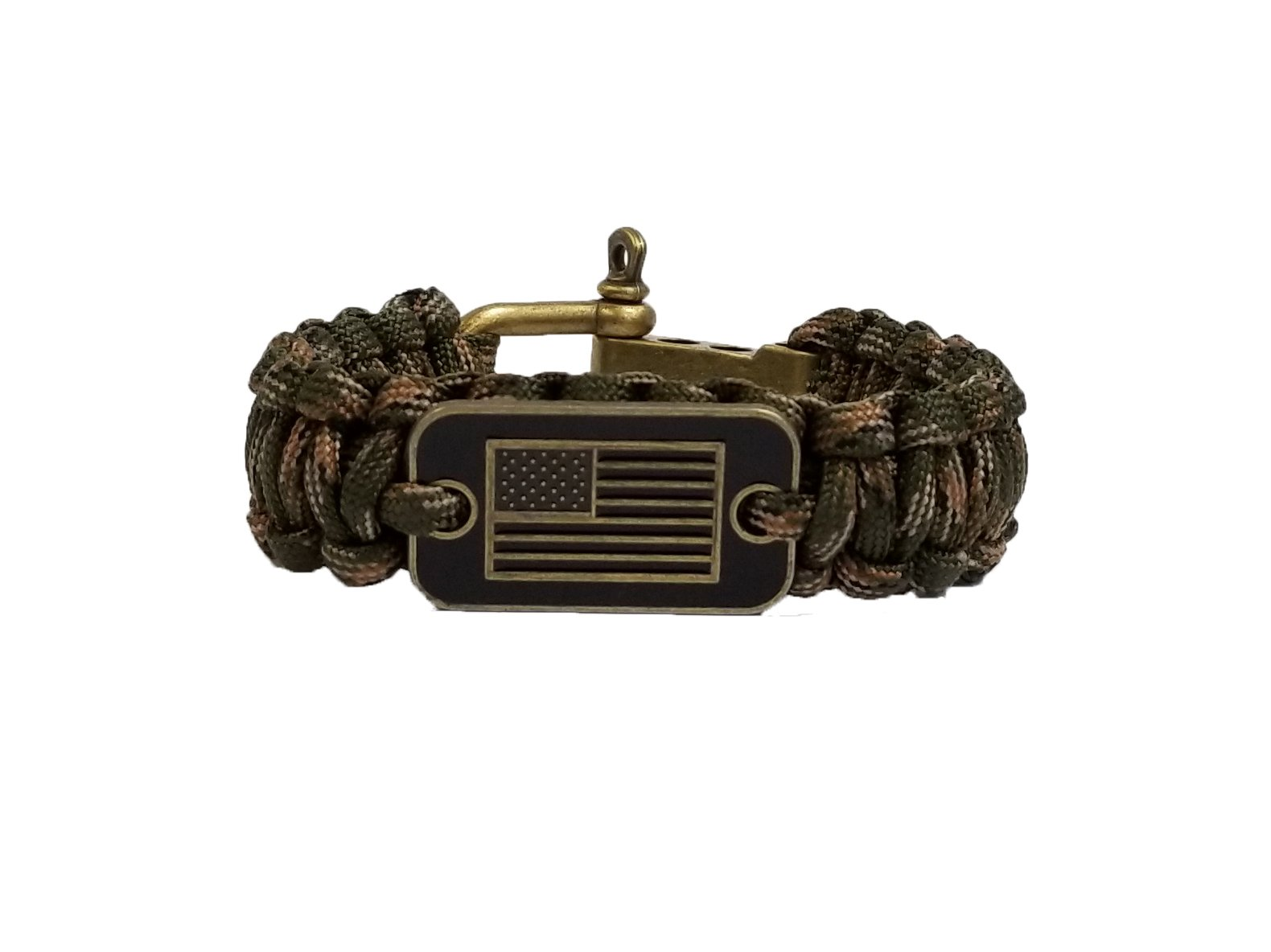 iHeartDogs Camo Paracord Bracelet | 20% of Sales are Donated to Help Pair Veterans with Shelter or Service Dogs
