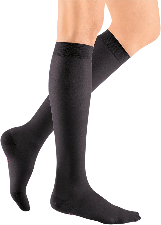 mediven Sheer /& Soft 20-30 mmHg Closed Toe Calf High Compression Stockings