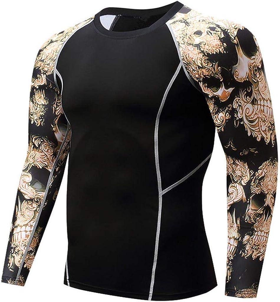 スポーツシャツ メンズ Kukoyo コンプレッションウェア トレーニングウエア アンダーウェア 長袖 Tシャツ パワーストレッチ フィットネス 加圧 吸汗 速乾 快適 アンダーシャツ コンプレッショントップス インナー UVカット ランニング アクティブ