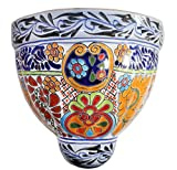 Talavera Xtra Large Wall Planter – 12″ x 11.75″ For Sale