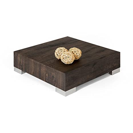 Mobili Fiver Icube 60 Living Room Table Wood White Ash 60 X 60