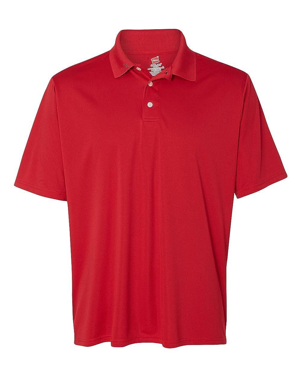 Hanes Mens Comfortable Performance Polo Shirt
