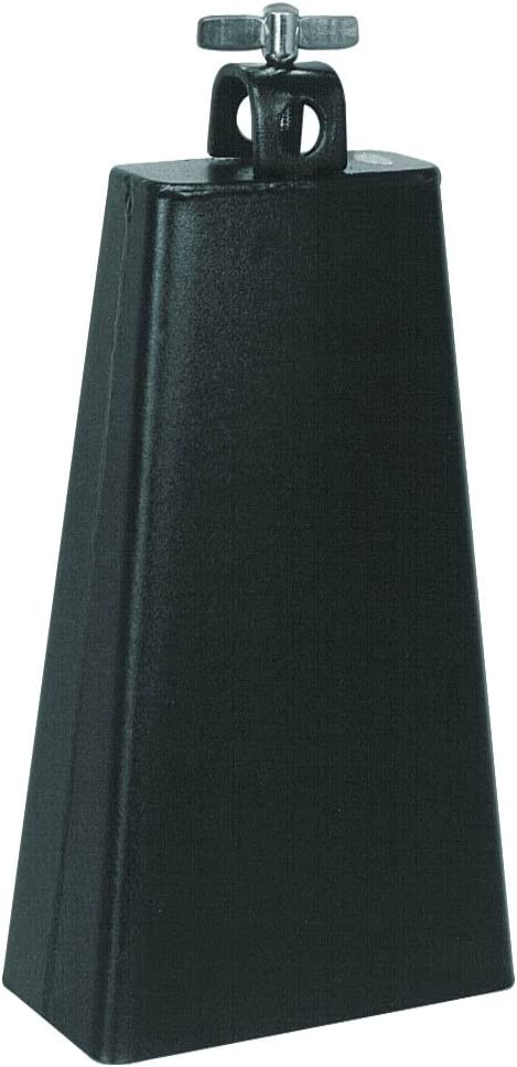 Percussion Plus LC6BK Black 6 1//2-Inch Cowbell