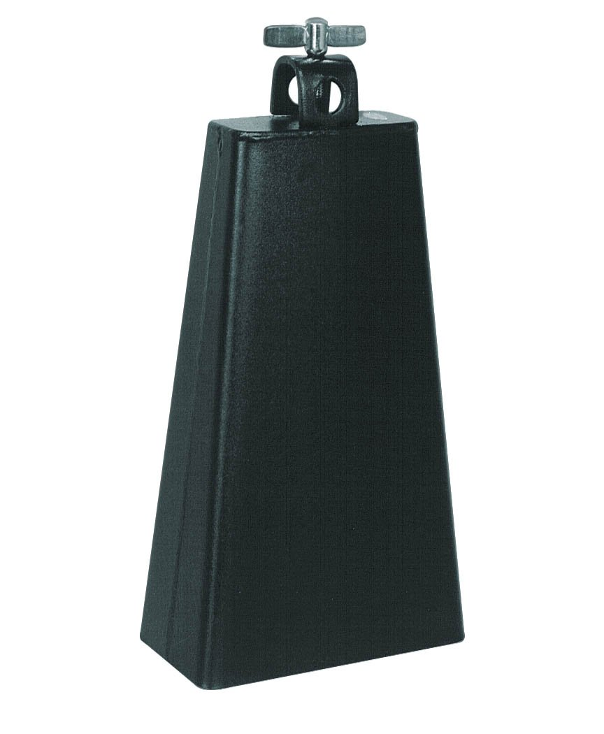 Percussion Plus LC6BK Black 6 1/2-Inch Cowbell
