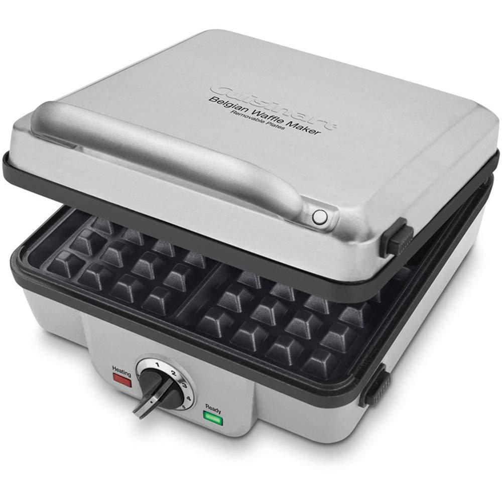Cuisinart WAF-200 4-Slice Belgian Waffle Maker Renewed