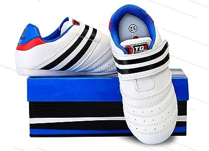 Unisex Karate Kung Fu Tai Chi Color : White, Size : 25 para Ni/ños Meng Taekwondo Zapatillas Deportivas para Gimnasio para Boxeo Adultos