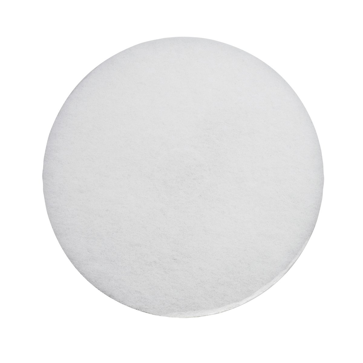 UltraSource Floor Polishing Pad, 17'', White (Pack of 5)
