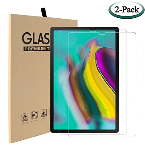 2 Pack Real Tempered Glass Screen Protector For Samsung Galaxy Tab S5e 10.5 T720