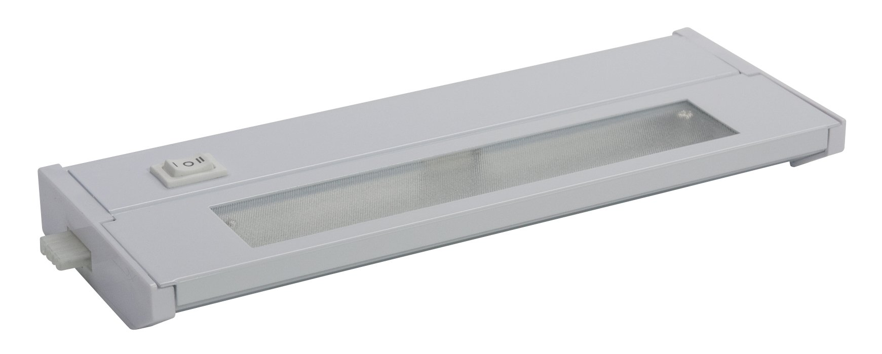American Lighting 043X-1-WH Priori Xenon Under Cabinet Hardwire Light, 20-Watts, Hi/Low/Off Switch, 120-Volt, 10-Inch, White