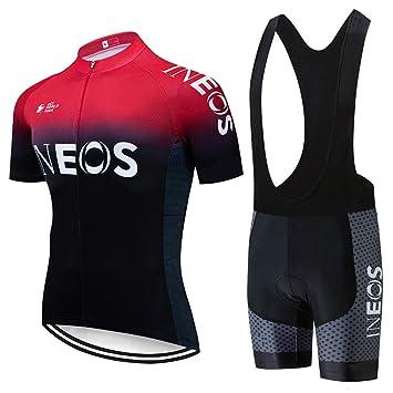 Conjunto Ropa de Ciclismo Hombres, Verano Traje Ciclismo Maillot ...