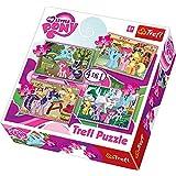 Trefl 4-in-1 Puzzle Ponies Holiday Hasbro My Little Pony