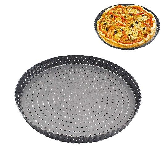 Bandeja de horno para pizza Povkeever, bandeja para pizza ...