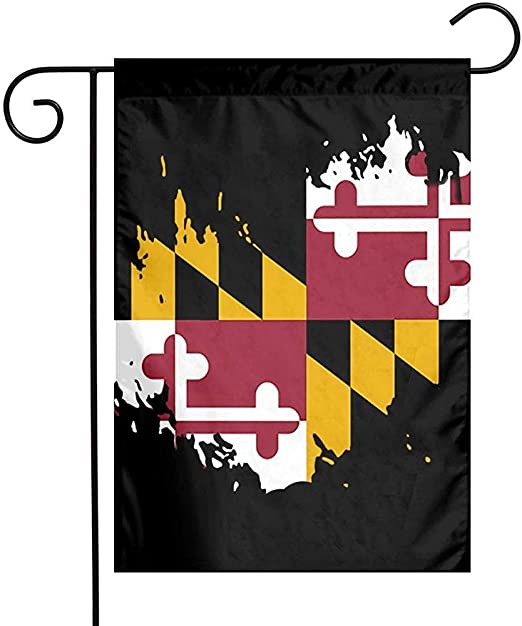 Marylands Flag Garden Flags Small Yard Flags Durable Weather