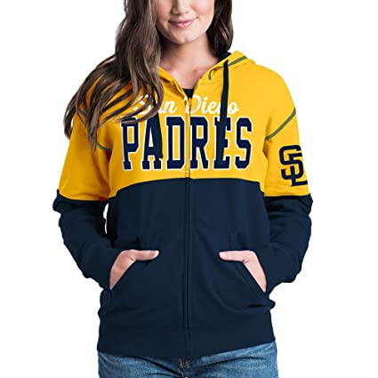 finest selection d7152 e69b9 Amazon.com : San Diego Padres Women's French Terry Zip Up ...