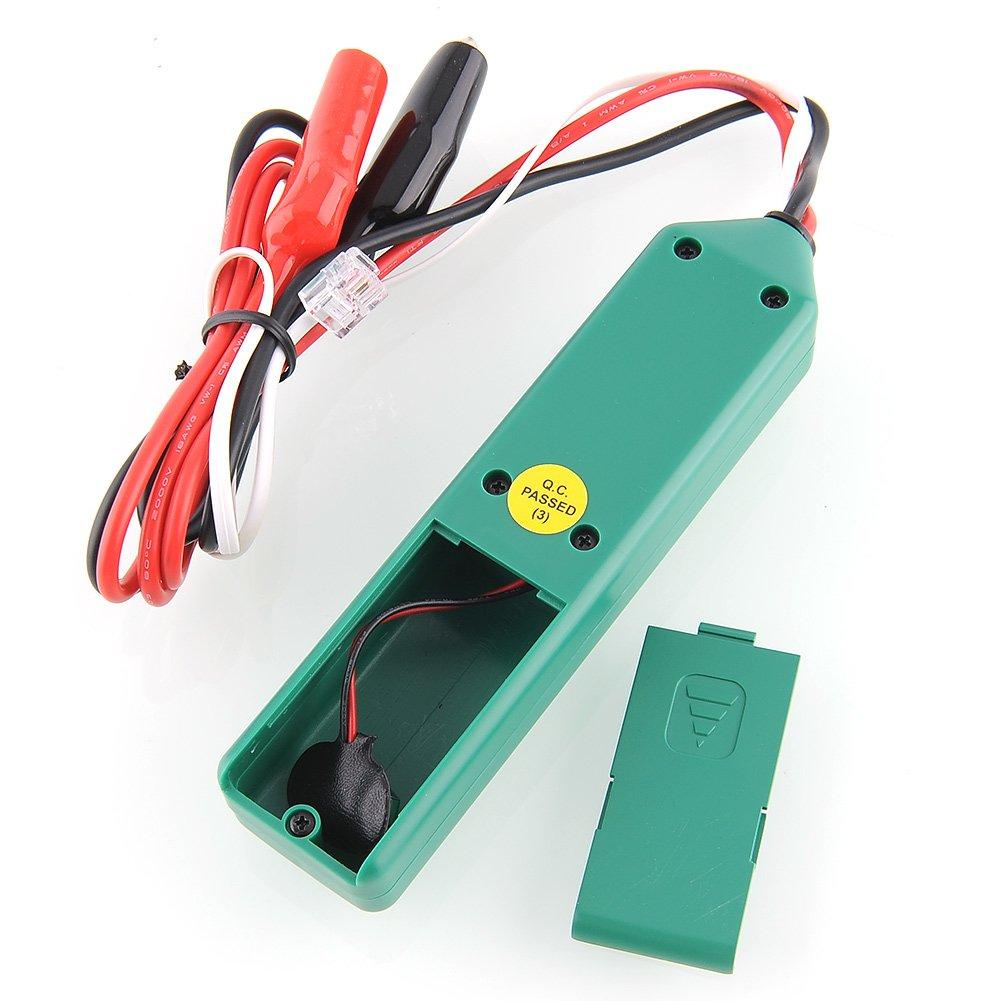 amzdeal - Detector de cables (emisor y receptor): Amazon.es: Bricolaje y herramientas