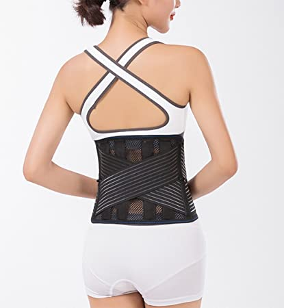 7fffd1caee Image Unavailable. Image not available for. Color  Waist Trimmer Belt  Breathable Belts ...