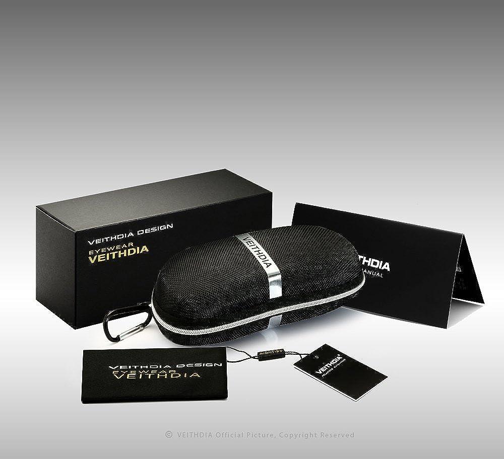 6f37585292 VEITHDIA Brand Unisex Retro Aluminum+TR90 Sunglasses Polarized Lens Vintage  Eyewear Accessories Sun Glasses For Men Women 6108  Amazon.in  Clothing    ...